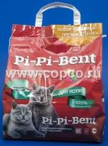 Пи-Пи-Бент 00076 Наполнитель д/котят комкующийся 5кг (крафт пакет)