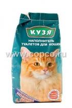 Кузя Наполнитель д/кошек впитывающий 4,5л*2,8кг