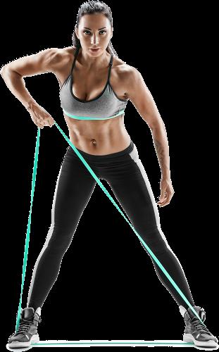 комплект из 5 фитнес-резинок