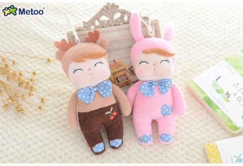 Кукла-сплюшка Metoo Angela mini в костюме кролика 18 см