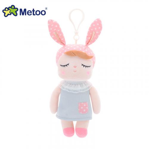 Кукла-сплюшка Metoo Angela mini в сером платье 18 см