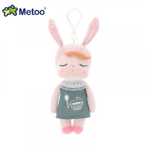 Кукла-сплюшка Metoo Angela mini в платье с вышивкой Пудинг 18 см