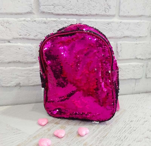 Рюкзак со сверкающей чешуёй
