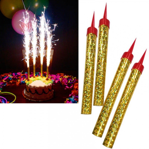 Фейерверк для торта Birthday Candle 6 штук 14 см.