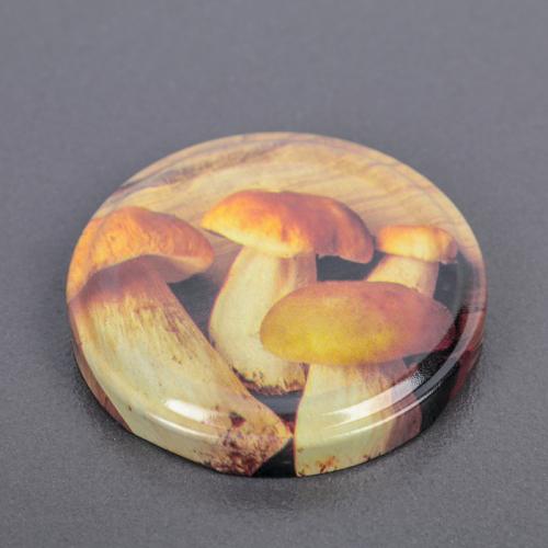 Крышка металлическая, винтовая, литографированная, твист-офф III, d=6,6 см
