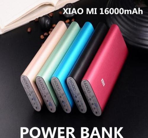 Power Bank XIAOMI, 16000 mAh Синий