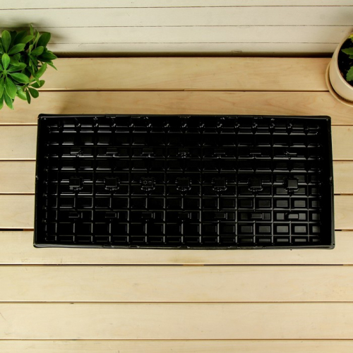 Поддон для рассады, 56 × 25 × 6 см