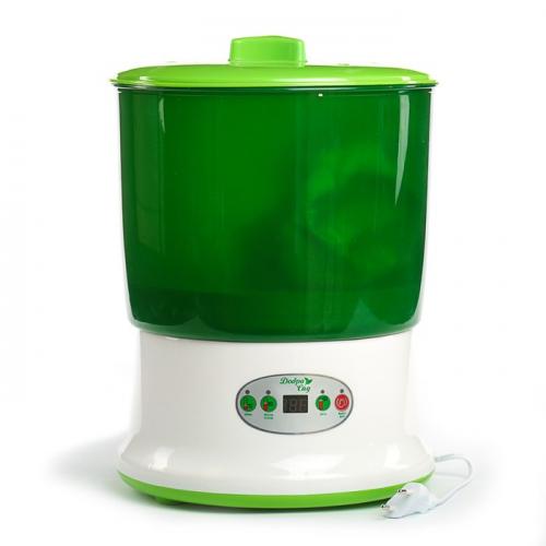 Проращиватель семян ДоброСад гармония DS03T, с таймером,  зеленый