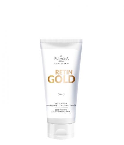 RETIN GOLD Золотая маска придающая упругость и осветляющая