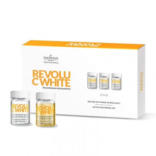 Активный отбеливающий набор REVOLU C WHITE