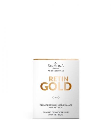 RETIN GOLD Дермокапсулы придающие упругость 100% ретинол