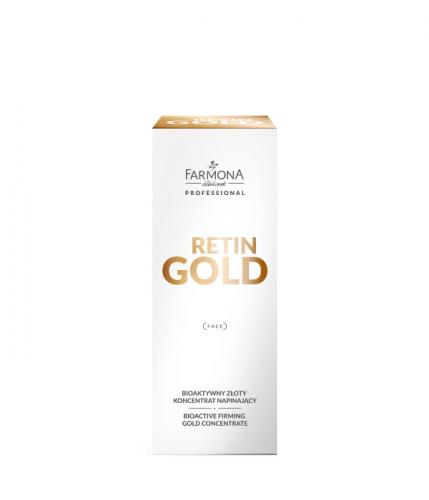 RETIN GOLD Биоактивный придающий упругость концентрат с золотом