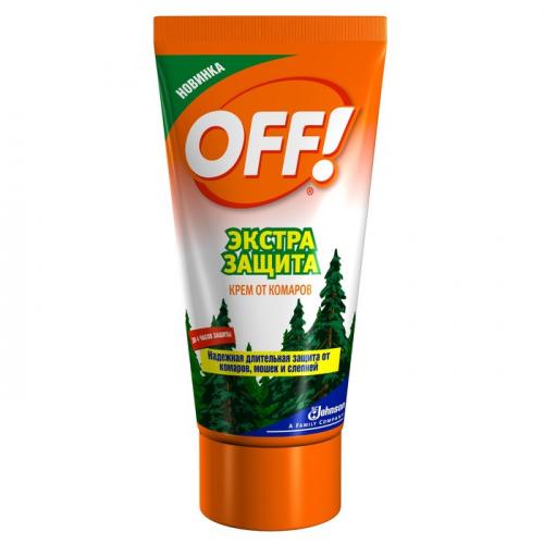 Крем от комаров OFF, экстра защита, 50 мл