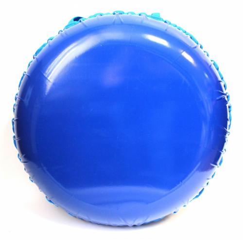 Надувные санки тюбинг/ватрушка Меховой Люкс Синий диаметр 110 см. Быстрик