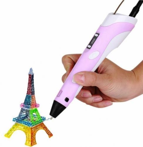 3D ручка ABS+PLA c ЖК дисплеем 2 поколение