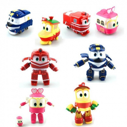 Игрушка-трансформер Робот-поезд Robot Trains Selli Сэлли