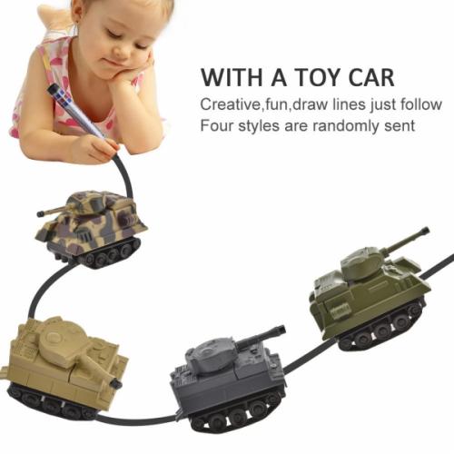 Индуктивная машинка INDUCTIVE CAR танк №3