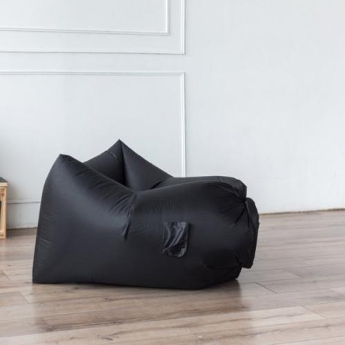 Надувное кресло-лежак Ламзак с карманами LAMZAC Россия черный