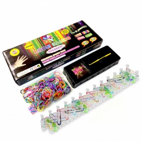 Набор для плетения браслетов из резинок Loom Bands (Лум Бандс) + большой станок