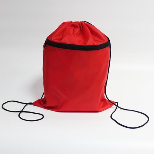 Сумка-рюкзак для сменной обуви и спортивного костюма 2 отдела Красная
