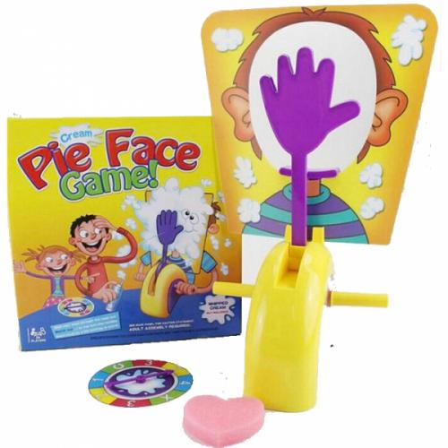 Детская игра рулетка Пирог в лицо