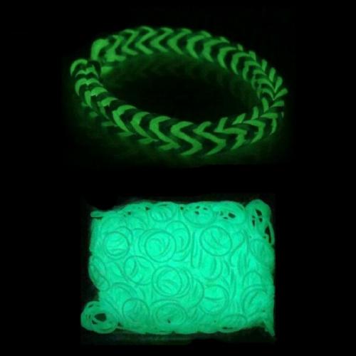 Набор резиночек Цветные Светящиеся для плетения Loom Bands 600 шт