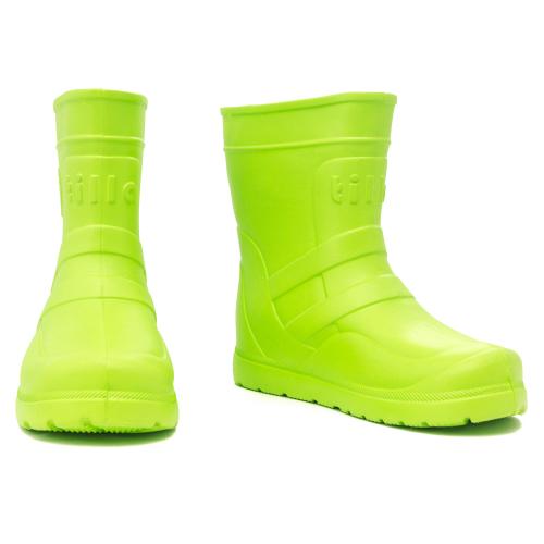 сапоги подростковые из ЭВА зеленыйTKV-2102-FL16