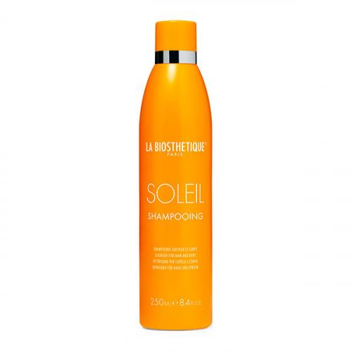 LA BIOSTHETIQUE HairCare MSol Шампунь для очищения поврежденных солнцем волос и кожи головы Soleil Shampooing, 250 мл 12/20