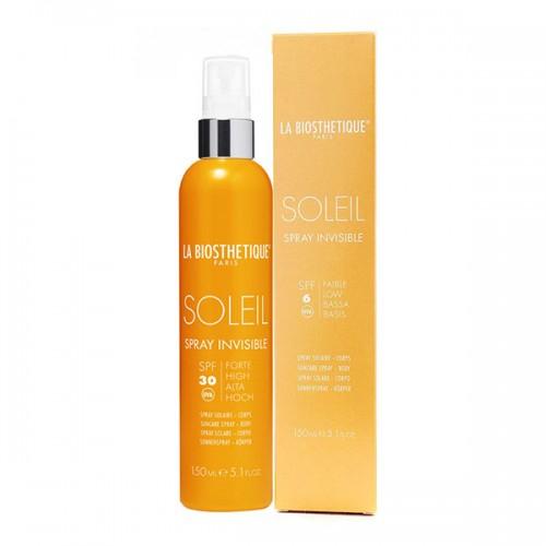 LA BIOSTHETIQUE SkinCare MSol Водостойкий прозрачный спрей для защиты кожи без красителей и консервантов Spray Invisible SPF 30 , 150 мл