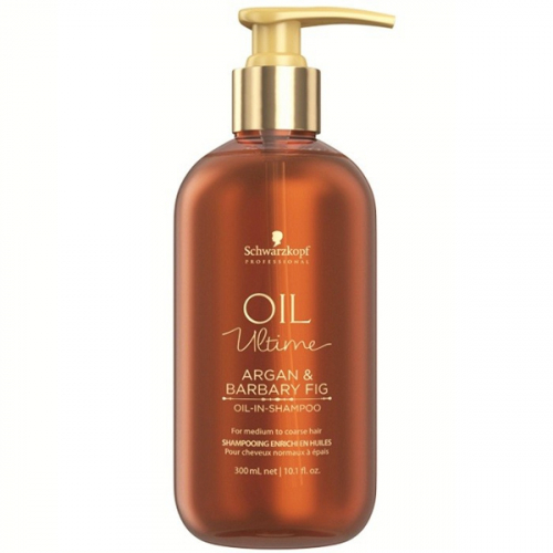 Schwarzkopf Oil Ultime Шампунь для жестких волос 1000 мл.