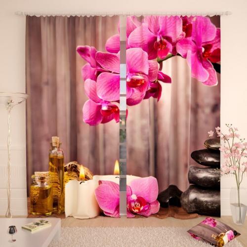Фотошторы Ароматные орхидеи