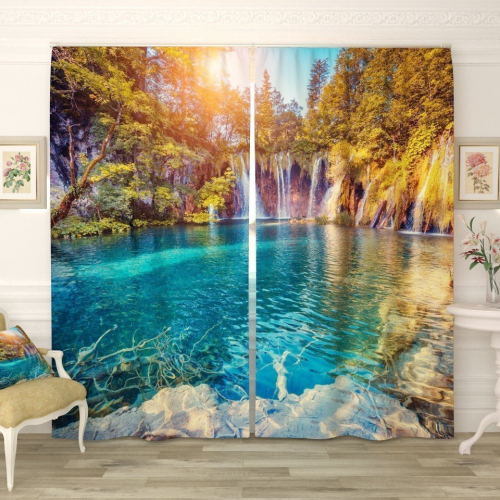 Фотошторы Водопады в Хорватии