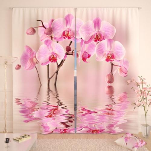 Фотошторы Арка из орхидей
