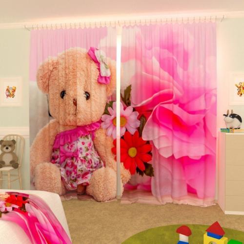 Детские фотошторы Маленькая медведица