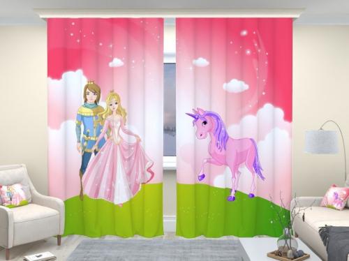 Фотошторы люкс Принц и принцессa