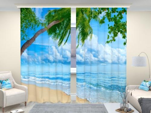 Фотошторы люкс Пляж