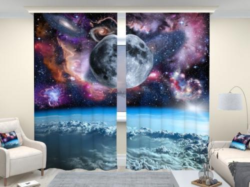 Фотошторы люкс Просторы вселенной