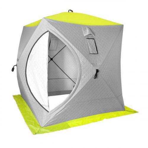 Палатка-куб зимняя рыболовная PREMIER (1,5х1,5) утепленная