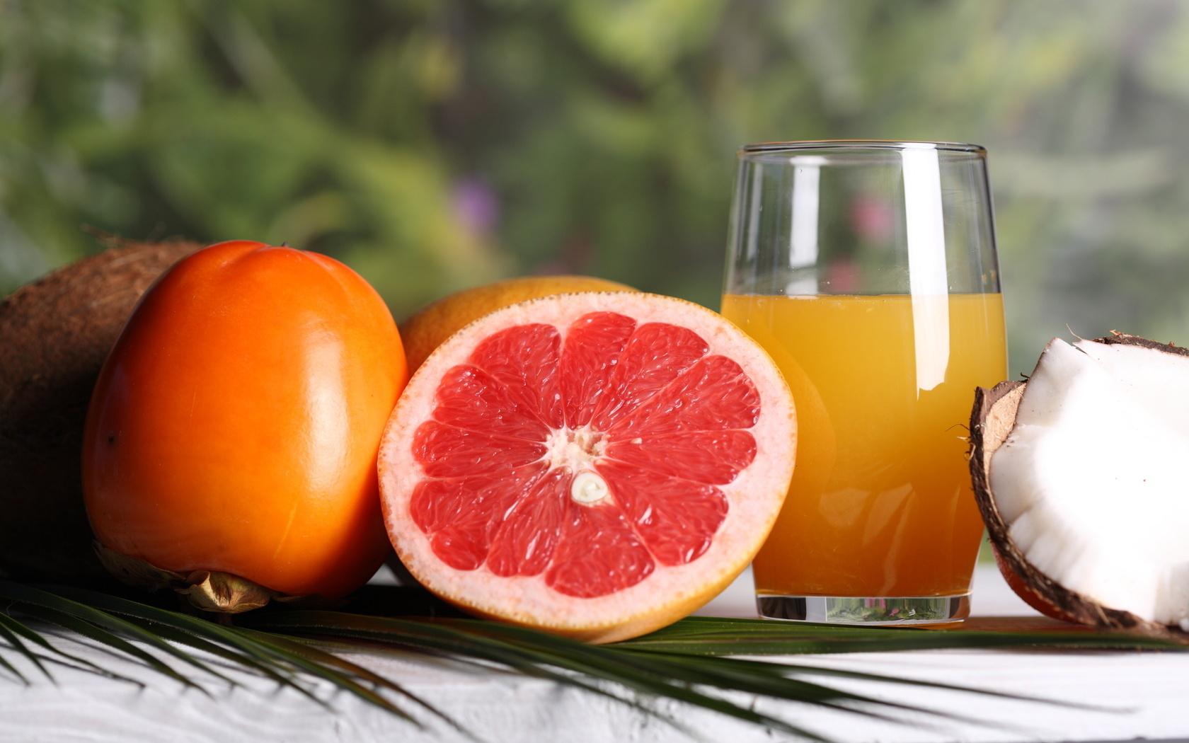 Сок грейпфрута и апельсина для похудения