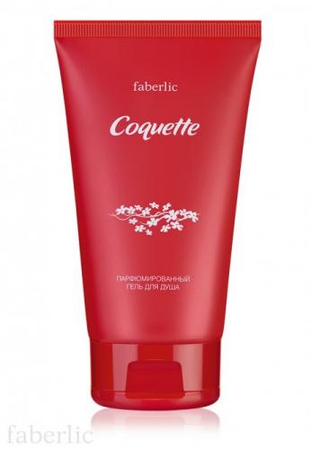 Парфюмированный гель для душа для женщин Coquette