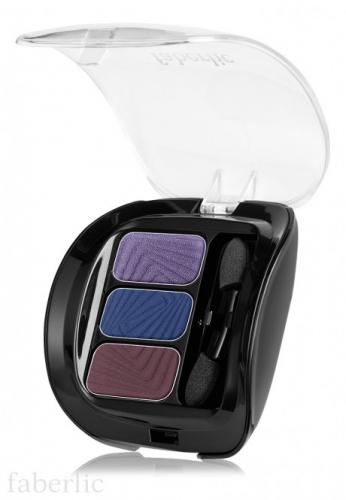Трехцветные тени для век «Виртуозное трио»