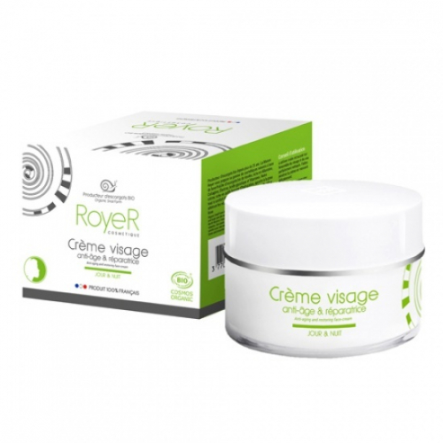 РУАЙЕ/Royer Антивозрастной и восстанавливающий крем для лица, 50 мл