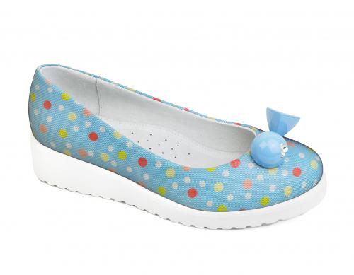 Туфли для девочки KB1823BL