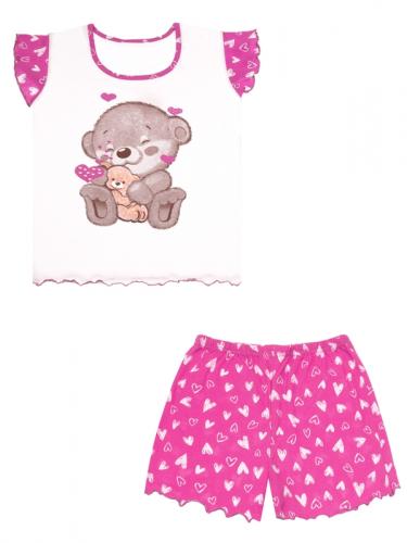 [506854]Пижама для девочки Д2ЖФШ353001н