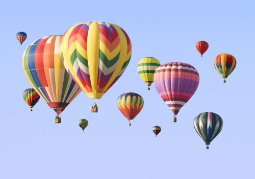 3 D обои Воздушные шары. ЦЕНА БУДЕТ ЗАВИСИТ ОТ ЗАКАЗАННОГО ИЗДЕЛИЯ