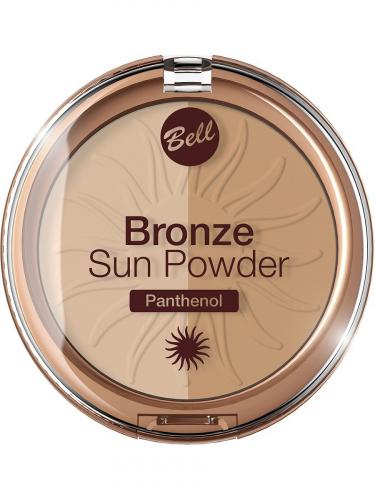 Bell Пудра бронз.с пантенолом Bronze Sun Power Panthenol №20