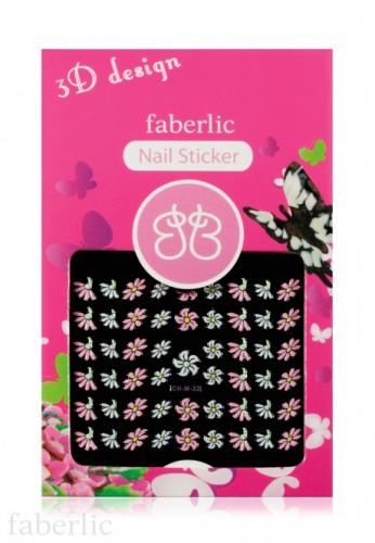 Стикеры для ногтей «Цветочки»