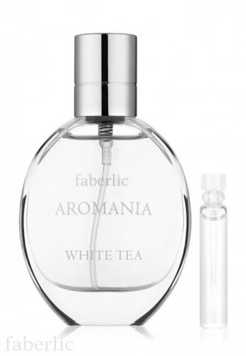 Пробник туалетной воды для женщин Aromania White tea