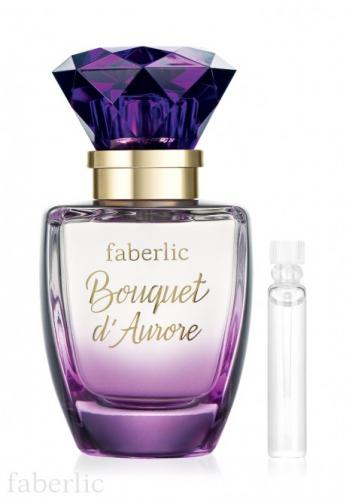 Пробник парфюмерной воды для женщин faberlic Bouquet d'Aurore