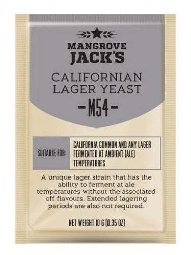 Дрожжи пивные Californian Lager M54, 10 г